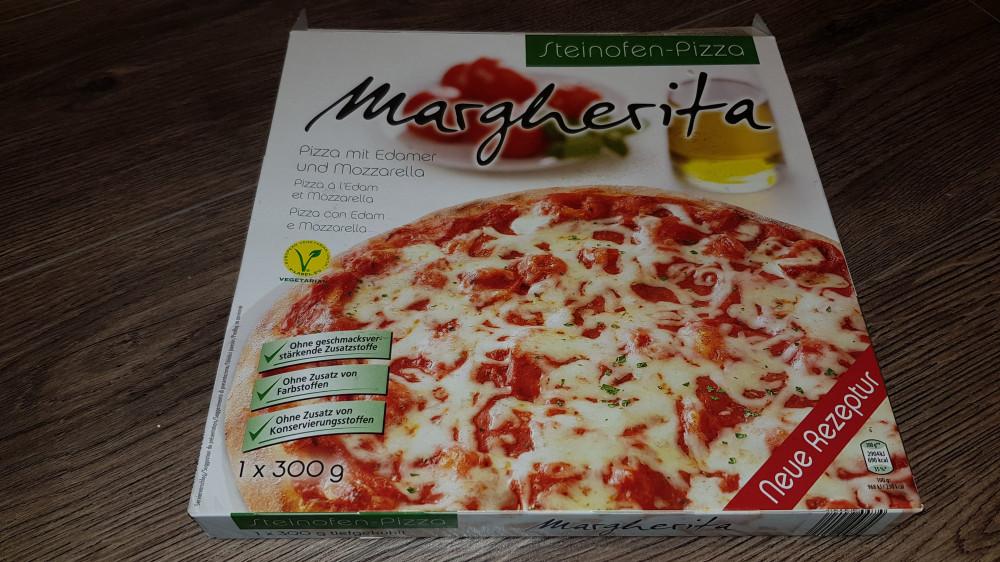 Steinofen-Pizza Margherita pizza edámi sajttal és..